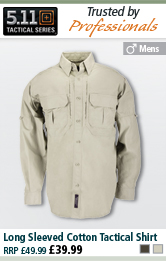 5.11 Tactical Long Sleeved Cotton Tactical Shirt