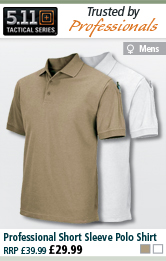 5.11 Tactical Professional Short Sleeve Polo Shirt
