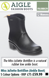 Aigle Miss Juliette Bottillon (Ankle Boot) - Noir