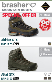 Brasher Ahklun GTX Mens Boots and Kanga Mens and Women's Boots