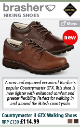 Brasher Countrymaster II GTX Walking Shoes (Men's) - Country Brown or Classic Brown