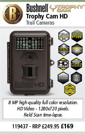 Bushnell 119437 Trophy Cam HD Trail Camera