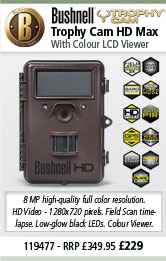 Bushnell 11947 Trophy Cam HD MAX Trail Camera with Colour LCD Viewer