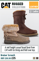 CAT Bruiser Scrunch Womens Casual Boot
