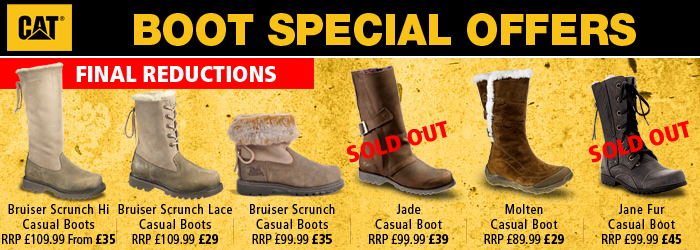 CAT Womens Winter Boots Sale