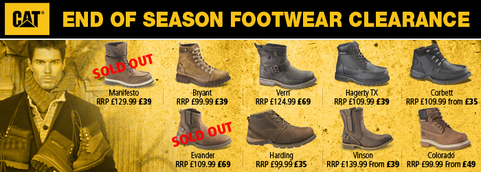 CAT Mens Winter Boots Sale