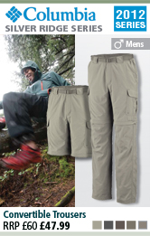 Columbia Silver Ridge Convertible Trouser