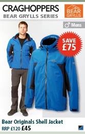 Craghoppers Bear Originals Shell Jacket