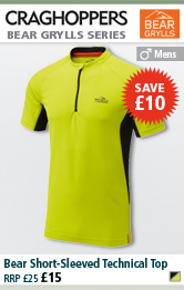 Craghoppers Bear Short-Sleeved Technical Top - Acid Green