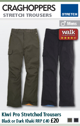 Craghoppers Mens Steall Stretch Trousers