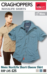 Craghoppers Nosilife Short Sleeved Shirts