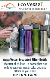 Eco Vessel Aqua Vessel Insulated Filter Bottles