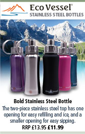 Eco Vessel Bold Stainless Steel Bottle