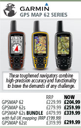 Garmin GPS MAP 62 Series
