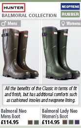 Hunter Balmoral Neoprene Wellington Boots
