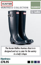 Hunter Wellies Huntress Ladies Wellington Boots