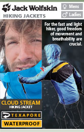 Jack Wolfskin Cloud Stream Hiking Jackets