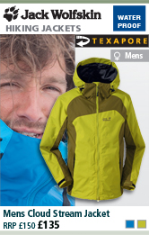 Jack Wolfskin Mens Cloud Stream Jacket