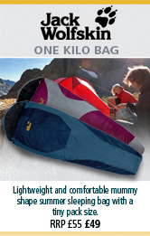 Jack Wolfskin One Kilo Bag Sleeping Bags