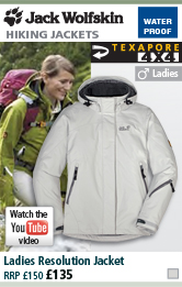 Jack Wolfskin Resolution Jacket - Womens - Grey Haze