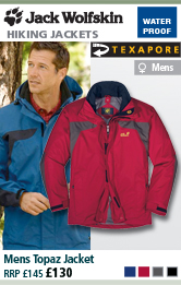 Jack Wolfskin Mens Topaz Jacket