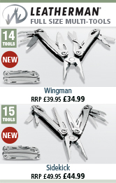 Leatherman Sidekick and WIngman Multi Tools