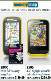 Memory Map Handheld GPS Units