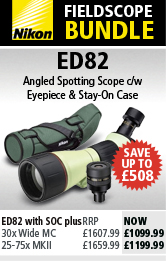 Nikon ED82 Fieldscope Bundles