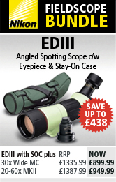 Nikon EDIII Fieldscope Bundle