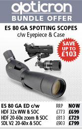 Opticron ES 80 Spotting Scope Bundles