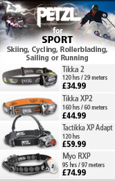 Petzl Headlamps for Sport