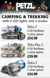 Petzl Headlamps for Camping and Trekking