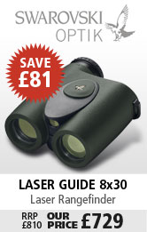 Swarovski Laser Guide 8x30 Range Finder