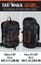 Tatonka Rhino EXP and Pacy EXP Rucksacks
