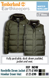 Timberland Reedville Down Jacket and Howker Down Vest