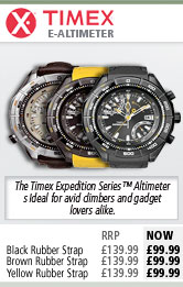 Timex E-Altimeter Watch