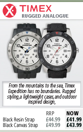 Timex Rugged Analogue Watch