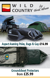 Wild Country Pole Bags and Groundsheet Protectors
