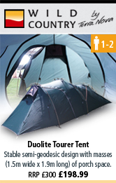 Wild Country Duolite Tourer Tent - Green