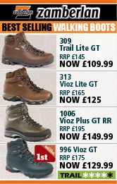 Zamberlan Best Selling Walking Boots