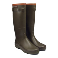 Aigle Chantebelle (Std Calf) Wellington Boots (Women's) - Khaki (Green)