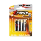 Ansmann 4x AAA Size X-Power