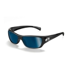 Bolle Crown 'Marine Collection' Sunglasses - Black (Frame), Polarised Offshore Blue (Lens)