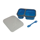 Eco Vessel Smash Box Collapsible Silicone Lunchbox