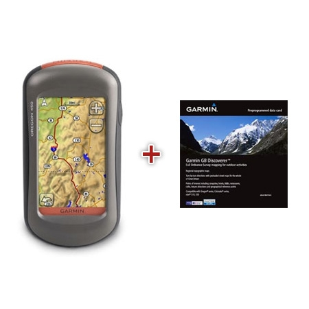 map of oregon country. Garmin Oregon 450 Handheld GPS