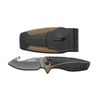 Gerber Myth Folding Sheath Knife - Gut Hook - Fine Edge