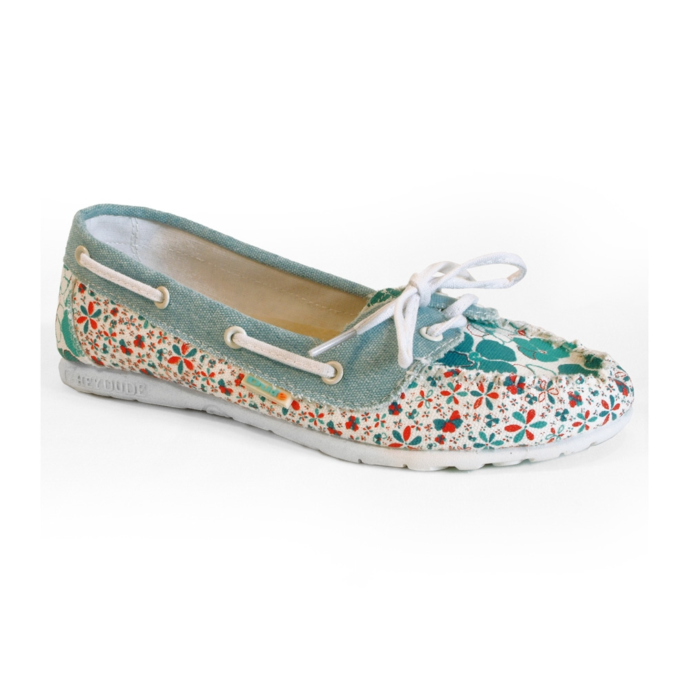 hey dude positano patterned canvas shoe s