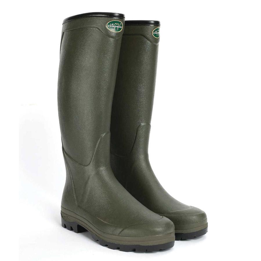 le chameau all tracks country mens wellington boots