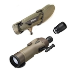 Nikon RAIII WP 82mm Straight Spotting Scope - Green, 25x LER Eyepiece, Stay On Case