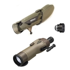 Nikon RAIII WP 82mm Straight Spotting Scope - Green, 25x DS Eyepiece, Stay On Case